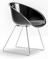 Кресло Дэвис пластиковое, ножки хром Реплика на дизайнерское кресло Клисс 921, Бесплатная доставка