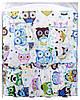 Детская постель Qvatro Gold RG-08 рисунок бирюзовая (большие совы), фото 3
