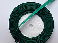Тесьма лента репсовая Стрічка репсова 6мм ( 22 метри в рулоні) зелений (зеленка)