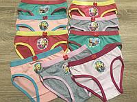 Трусы детские для девочек на широкой резинке «Смайлик в сказке» 2-5 лет (1099S)
