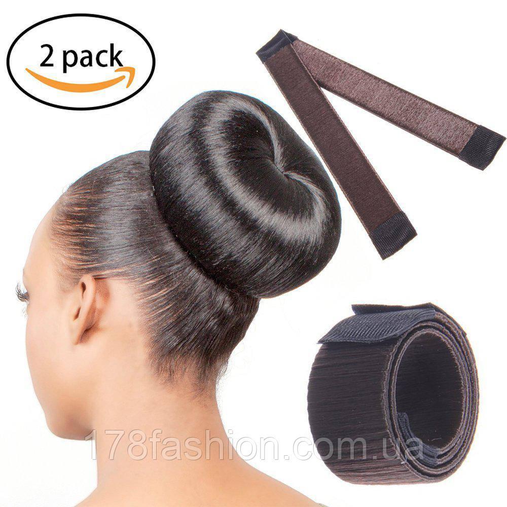 Знаменитая заколка для волос Hairagami (Хэагами) из волос, каштановая