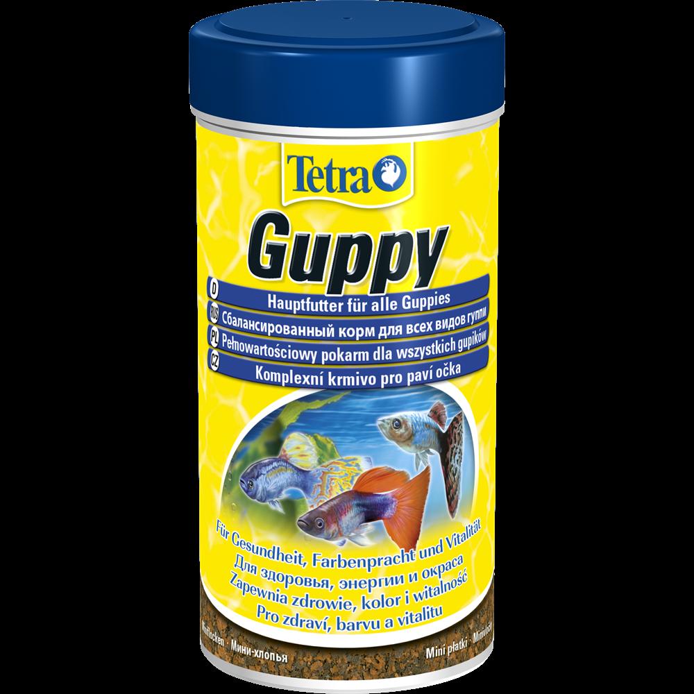 Корм для живородящих рыб Tetra Guppy 100 мл хлопья
