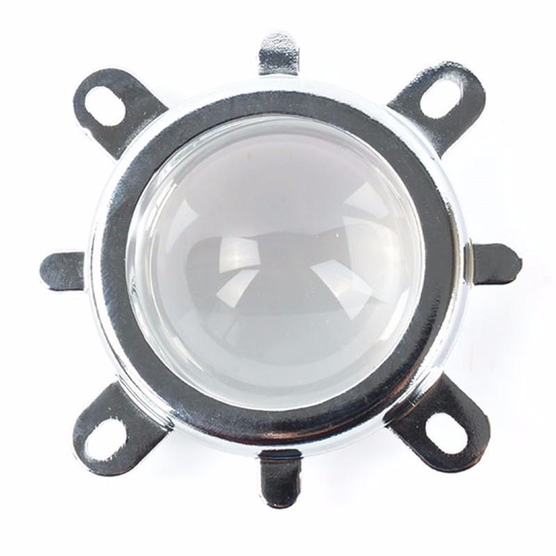 Линза для светодиодной матрицы 20-100W SL-44 44мм 60-80* с креплением Код.59299