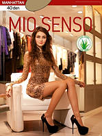 """Элегантные капроновые колготки """"Mio Senso"""" 40 дэн"""