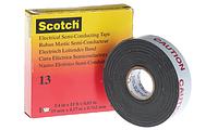 Лента 3М Scotch 13 (19 мм. х 4.5 м.)Cамослипающаяся полупроводящая.13, фото 1