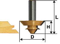 Фреза комбинированная универсальная ф44.5х21, хв.12мм (арт.10611)