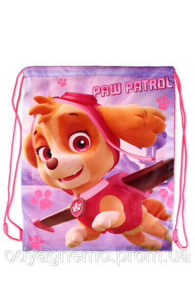 Сумка для девочек  Paw Patrol оптом, 41*33 см.