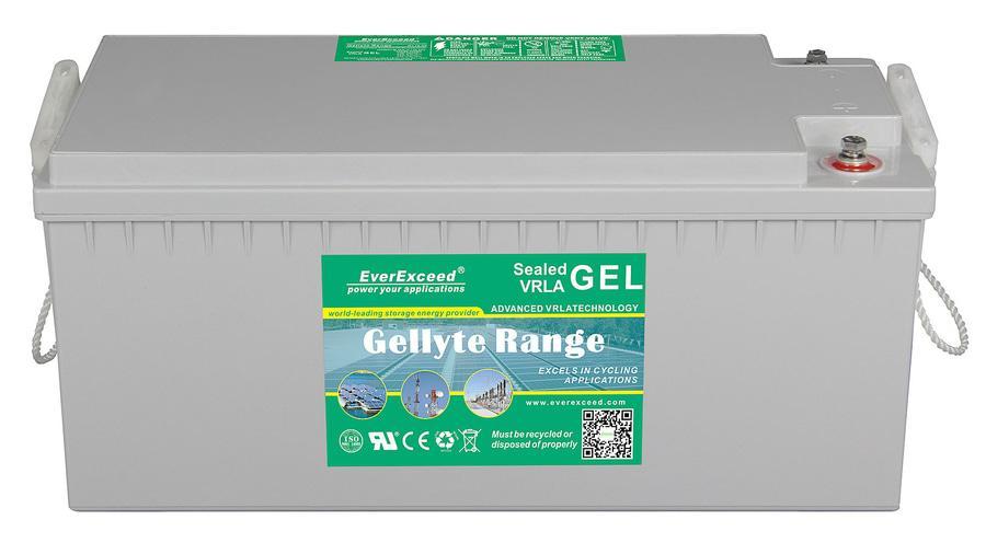 Гелевый аккумулятор EverExceed GL 12-200 (12В 200Ач)