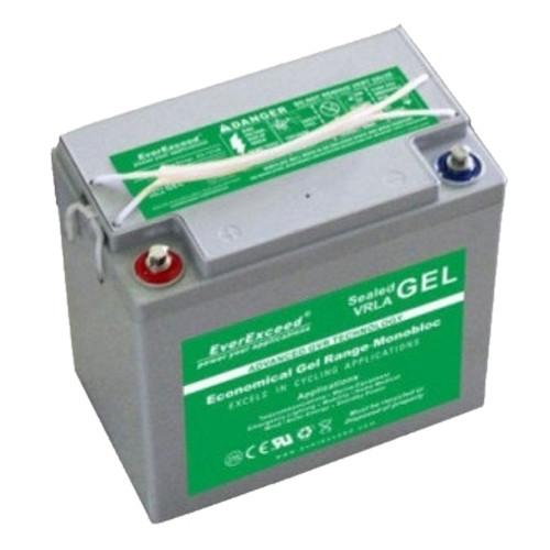 Гелевий акумулятор EverExceed GL 12-40 (12В 40Ач)