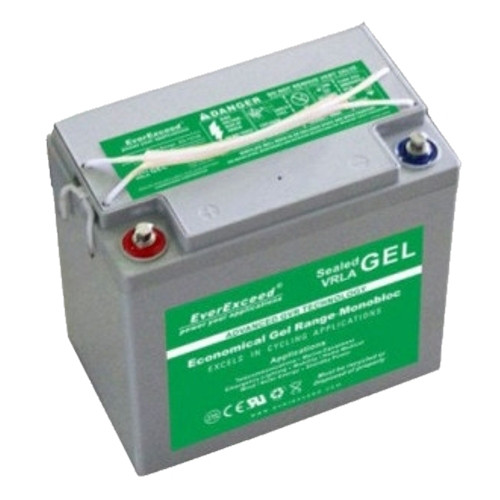 Гелевый аккумулятор EverExceed GL 12-33 (12В 33Ач)