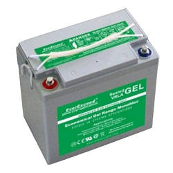 Гелевий акумулятор EverExceed GL 12-33 (12В 33Ач)