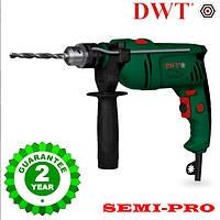 Дрель с ударом DWT SBM-780, 780 Вт полупрофесионал, гарантия 2 года.