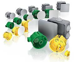 Коробки распределительные, установочные Schneider Electric