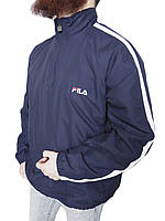 Куртка анорак мужская Fila  Оригинал р-р L (сток, б/у) весна-осень, демисезонная