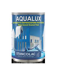 Краска Aqualux 2090 Аквалюкс для деревянных и металлических поверхностей на водной основе, 0,75л
