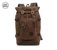 Коричневый брезентовый рюкзак Augur поступил в продажу и уже доступен в нашем каталоге.