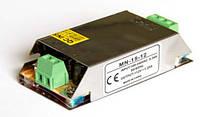Блок питания 12В 1,25А 15Вт негерметичный для светодиодной ленты Compact