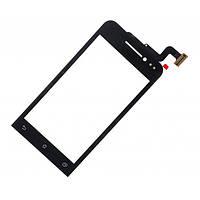 Тачскрин для Asus ZenFone 4 (A400CXG), черный Оригинал