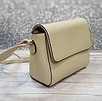 Женская сумка молочного цвета, фото 3