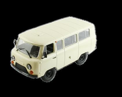 Модель Автолегенды СССР Лучшее (DeAgostini) №22 УАЗ-452В (1:43)