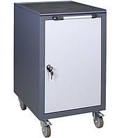Тележка инструментальная ТИ Д (500х600х920h), металлическая тумба на колесах, фото 1