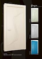 Двери межкомнатные МДФ, фрезерованый 3D, краска глянец.