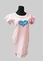 Платье с контрастной строчкой Сердце, фото 1