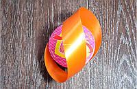 Лента подарочная полипропиленовая, 33 мм., 20 ярдов (оранжевый)