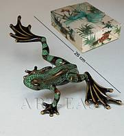 Фарфоровая статуэтка Лягушка Pavone JP-08/ 1