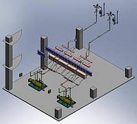 Размещение оборудования в зданиях
