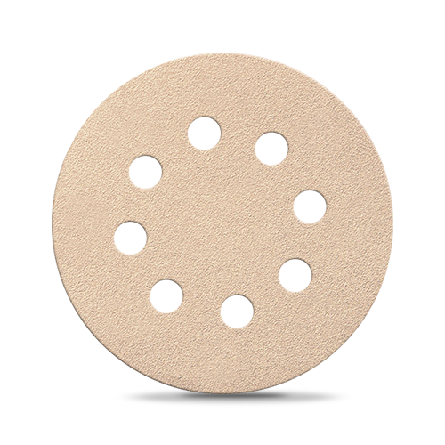 Папір для сухої шліфовки Smirdex 510. Діаметр 125 мм, 8 отворів. Зерно 40-800