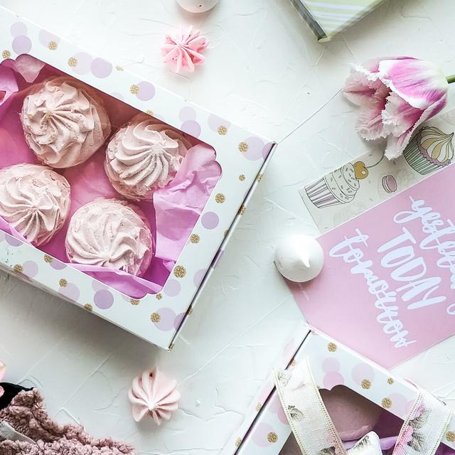 Коробка для печенья, пряников и десертов