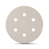 Бумага для сухой шлифовки Smirdex 510. Диаметр 150 мм. 7 отверстий. Зерно 40-800