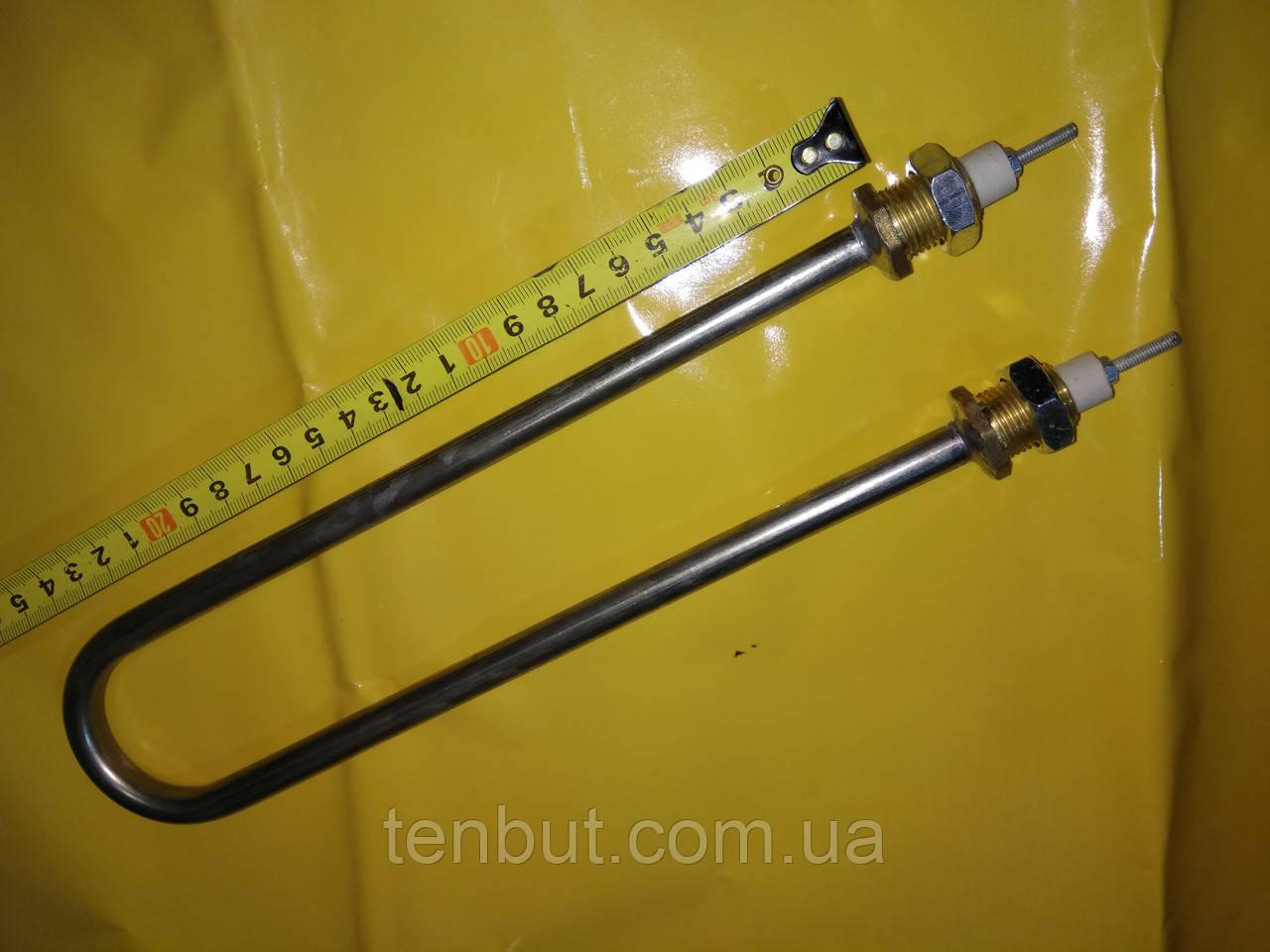 Нержавеющий тэн дуга для дистиллированния воды 2.0 кВт. / 220 В. резьба м-18 мм. Украина .