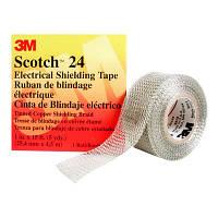Лента для экранирования кабельных соединений, 3M Scotch 24 (25 мм.), восстановления экрана кабеля