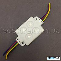 Светодиодный модуль RGB 4LED SMD5050 IP65, фото 1