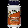 Препарат для рассасывания тромб в кровеносных сосудах NOW Bromelain 500 мг (60 капс)
