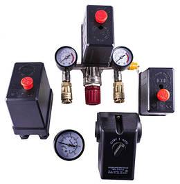 Автоматика, манометры, тепловые реле для компрессора