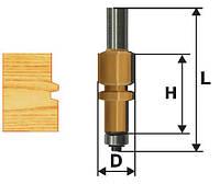 Фреза комбинированная универсальная ф22.2х38, хв.12мм (арт.10618)