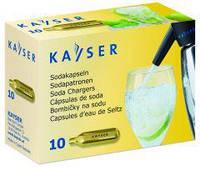 "Капсулы для содовой ""Kayser"", CO2 (10шт. упаковка). 1101"