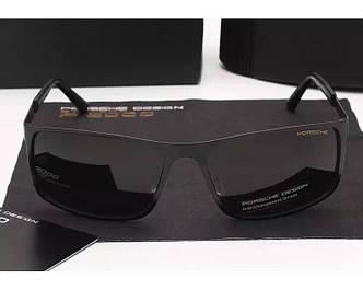 Солнцезащитные очки Porsche Design c поляризацией (p-8566) black SR-880