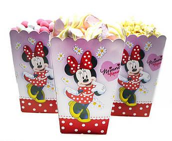 Коробочки для сладостей Минни Маус 5 штук