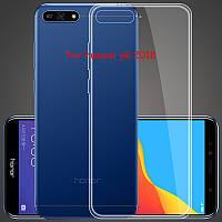 Ультратонкий чехол для Huawei Y6 2018, фото 1