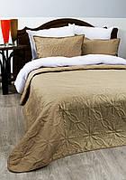 Покрывала для гостинец оптом 200*220 см. Monro beige (78082)