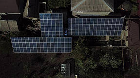 Сетевая станция 30 кВт. 2 инвертора Fronius + 120 панелей Risen 2