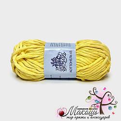 Пряжа Коттонель 65 Vivchari,  № 3003, желтый