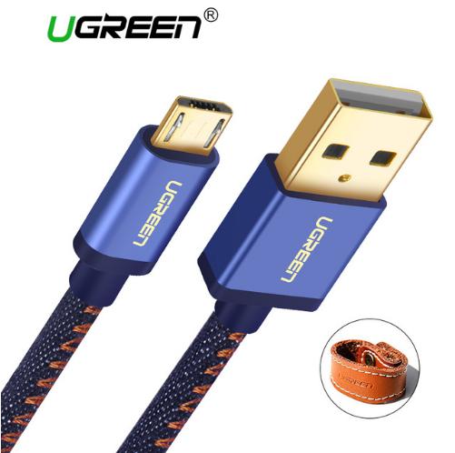 Ugreen джинсовый Micro Usb кабель