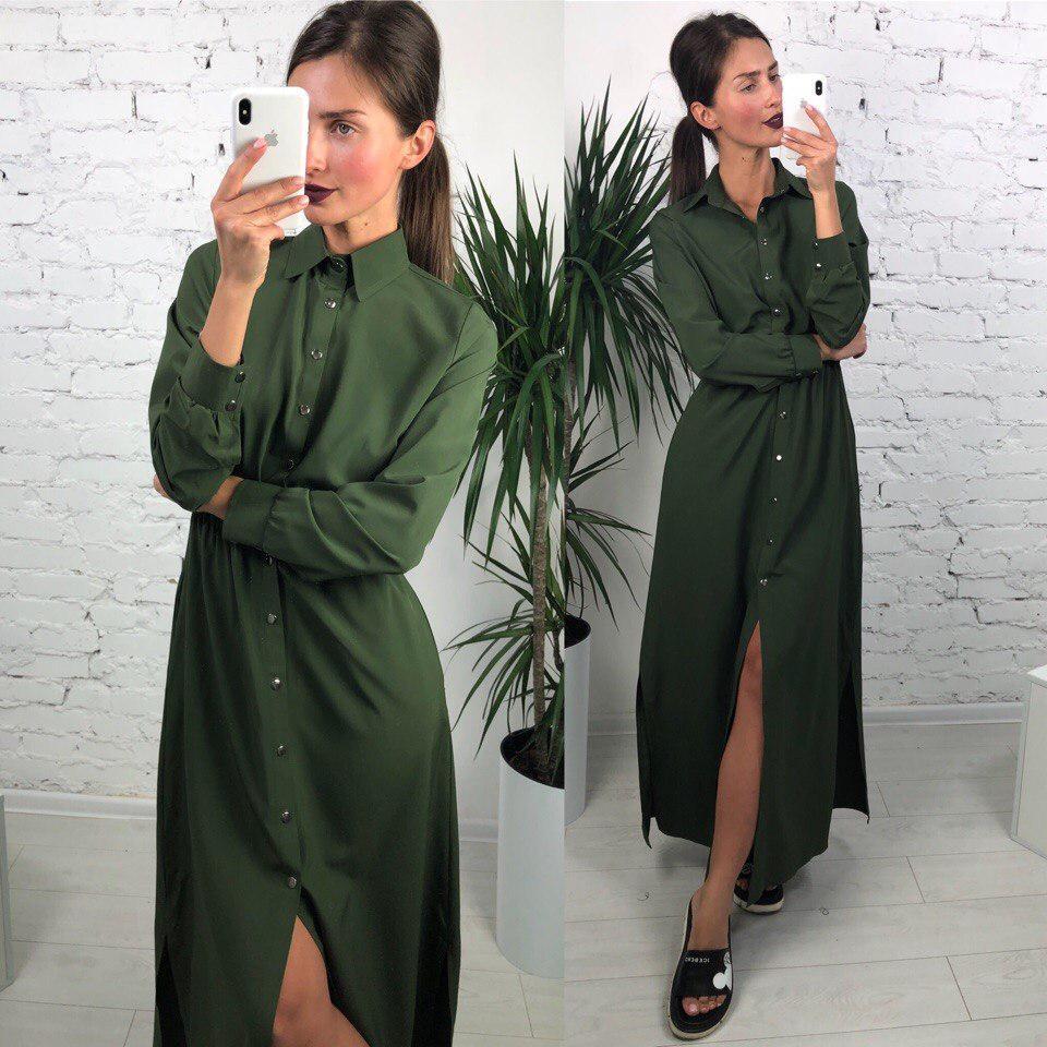 ae386c23e8f Женское повседневное платье миди   продажа