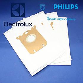 Набор мешков, микроволокно, FC8021/03 S-BAG Classic Long Performance к пылесосу Philips 883802103010.