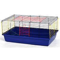 Клетка Кролик 100 Лори Оцинкованная клетка для содержания морских свинок, декоративных кроликови других средних грызунов